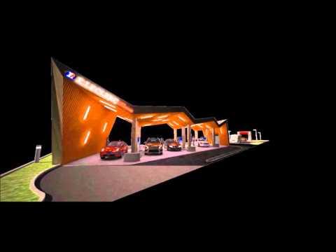 Vidéo du projet Station Service- E.leclerc Masevaux