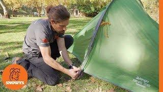 Vango Nevis 200 2P Hiking Tent - How to setup & pack away