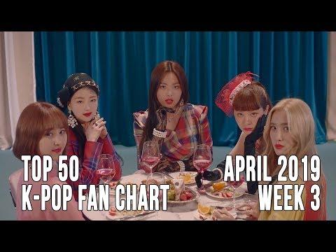 Top 50 K-Pop Songs Chart - April 2019 Week 3 Fan Chart