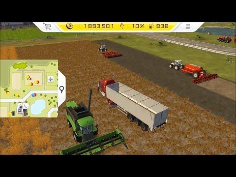 Farming Simulator 14 - PS Vita Gameplay