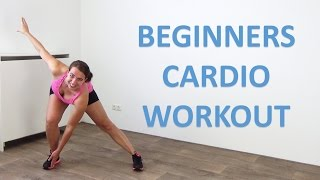 20 Minute Cardio Workout for Beginners – Low Impact Beginner Cardio Exercises – At Home by FitnessType