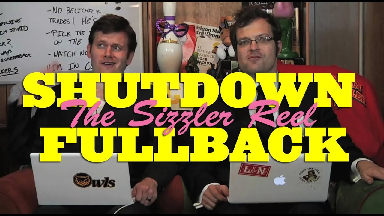 SHUTDOWN FULLBACK: THE SIZZLER REEL thumbnail