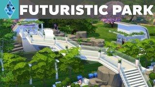 The Sims 4 - House Build - Futuristic Park