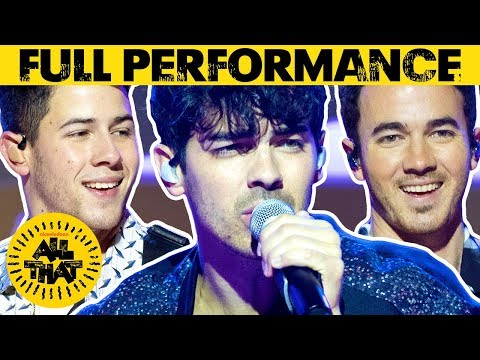 Jonas Brothers Perform 'Sucker' 🎶 All That | #MusicMonday