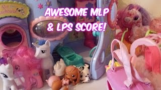Charity Shop/Thrift Store Finds | EP 7 | LPS AND MLP SCORE!
