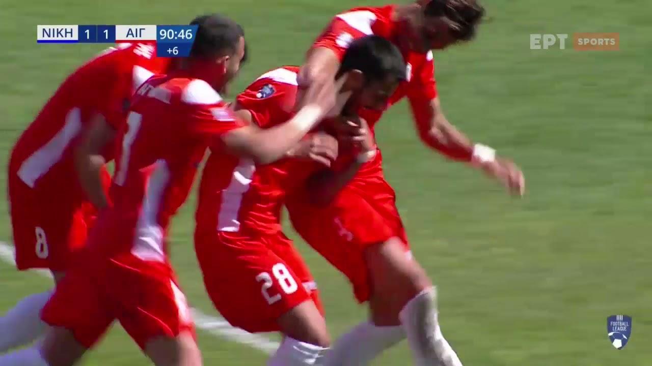 Football League | Τραγικό λάθος του Τσιμπούκα και 1-2 το Αιγάλεω | 27/03/21 | ΕΡΤ