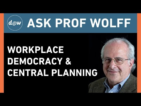 AskProfWolff: Workplace Democracy and Central Planning