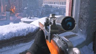 Sniping in the Call of Duty: Vanguard Beta