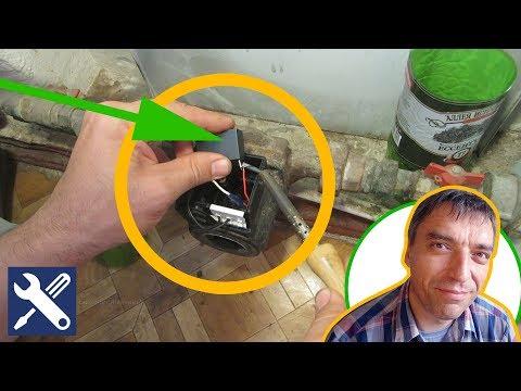 ✅ РЕМОНТ ЦИРКУЛЯЦИОННОГО НАСОСА - как заменить конденсатор / Мелкий ремонт