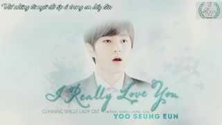 [Vietsub][Audio] I Really Love You - Yoo Seung Eun ft GB9 (Cunning Single Lady OST) {Laurel Team}