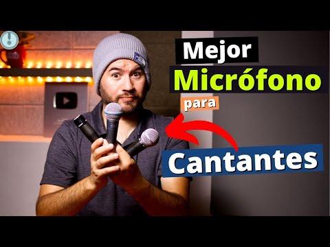 Microfono: El Legendario SHURE SM58 - Los MEJORES Microfonos Para Cantantes🤔😮