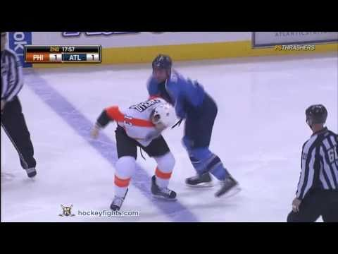 Mark Stuart vs. Dan Carcillo