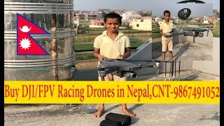 Buy DJI Drones in Nepal - 9 Years Old Nepali Boy Flies Drone like a Pro Pilot