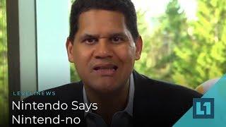 Level1 News November 21 2018: Nintendo Says Nintend-no