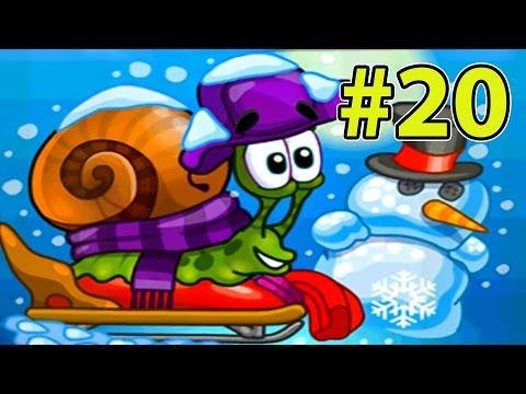 УЛИТКА БОБ #20 - Зимняя история. Часть 1. МУЛЬТФИЛЬМ для детей. Несносный боб 20 на Игрули TV.