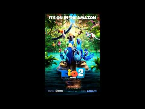 I got to play 7-string guitars and cavaquinho on the film Rio 2, this clip here has the guitars more upfront so you can really hear me.