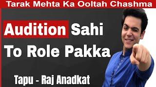 Audition Se hi Selection Hota hai | Tappu TMKOC | Raj Anadkat Interview | #FilmyFunday | Joinfilms