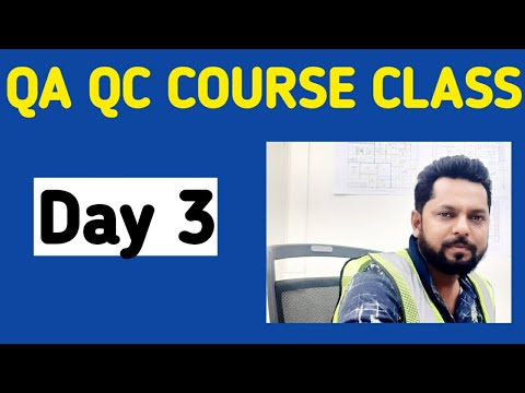 3rd Day FREE QA QC COURSE WITH ISO CERTIFICATION ...