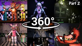360°| Best FNAF 360 Show Compilation!! - Five Nights at Freddy