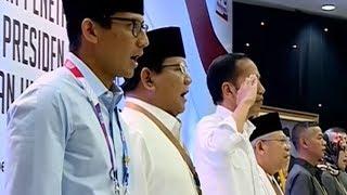 Viral Aksi Jokowi Hormat saat Indonesia Raya Dikumandangkan, Ternyata Begini Aturannya