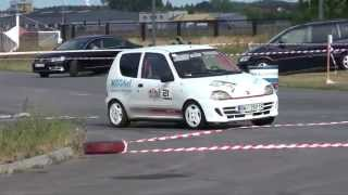 Sidur Arkadiusz / Kozik Kamil - Fiat Seicento - KJS XV Rajd Mielecki 06-09-2015 Mielec