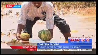 River Tana's banks bursts causing floods in Bambala-Garissa