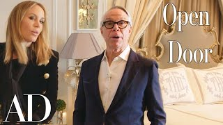 Inside Tommy Hilfiger's $50 Million Penthouse in the Plaza Hotel | Open Door | Architectural Digest - dooclip.me