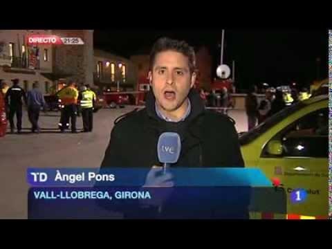 Incendio en Vall-llobrega, Calonge y Palamós