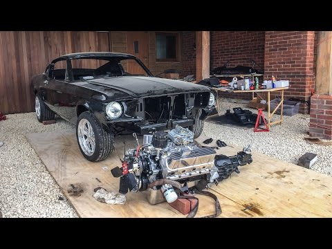 Download Building a 1967 Ford Mustang Fastback on a driveway! HD Mp4 3GP Video and MP3
