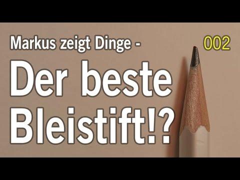 Der beste Bleistift – gibt's den? – Palomino Blackwing vs Faber Castell