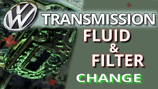 VW Transmission Fluid and Filter Change 09G Aisin | TF60-SN