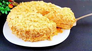 Торт Наполеон Супер Вкусный рецепт 🤤