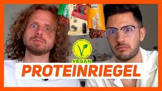 Der ultimative vegane Protein Riegel Test
