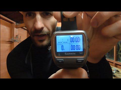 Garmin Forerunner 310XT review - GPS running watch for triathlon, running and cycling