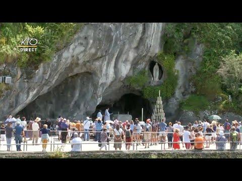 Chapelet du 24 juillet 2020 à Lourdes