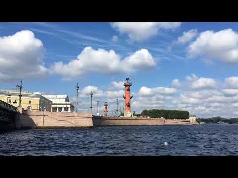 The spit of Vasilievsky island. Saint-Petersburg. Стрелка Васильевского острова.