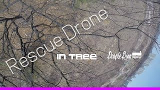 Rescue Drone in tree | Turtle mode | FPV Free Style