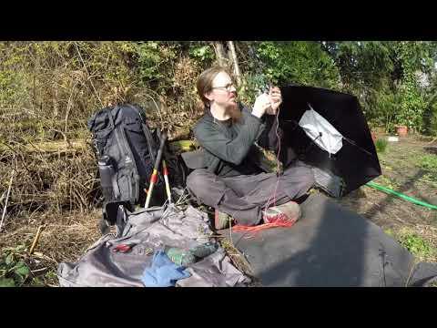 Der ultraleichte und windresistente Trekkingschirm