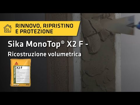 Tutorial: Sika MonoTop® X2 F
