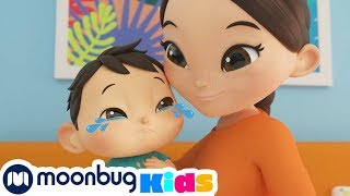 Boo Boo Song! | +MORE Little Baby Bum: Nursery Rhymes & Kids Songs | ABCs and 123s | Moonbug Kids