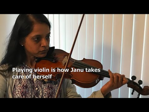 Janu's story learning violin