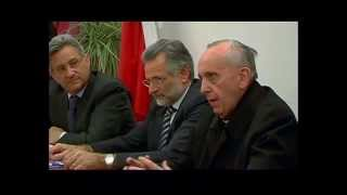 preview picture of video 'Inaugurazione di Zagarolo.tv con il video di Papa Francesco a Zagarolo nel 2009 Card. Bergoglio'