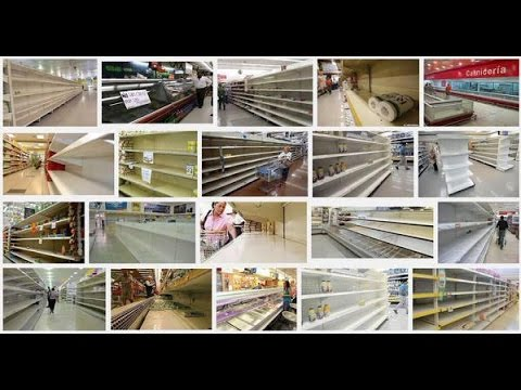 Empty Shelves in Venezuela: Recession leads to hoarding of daily goods