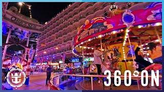 Oasis of the Seas: The Boardwalk in 360º