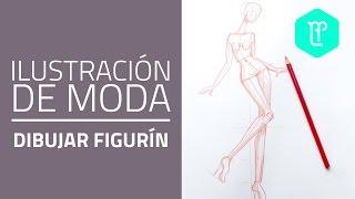 Cómo Dibujar FIGURINES DE MODA: Movimiento De Frente
