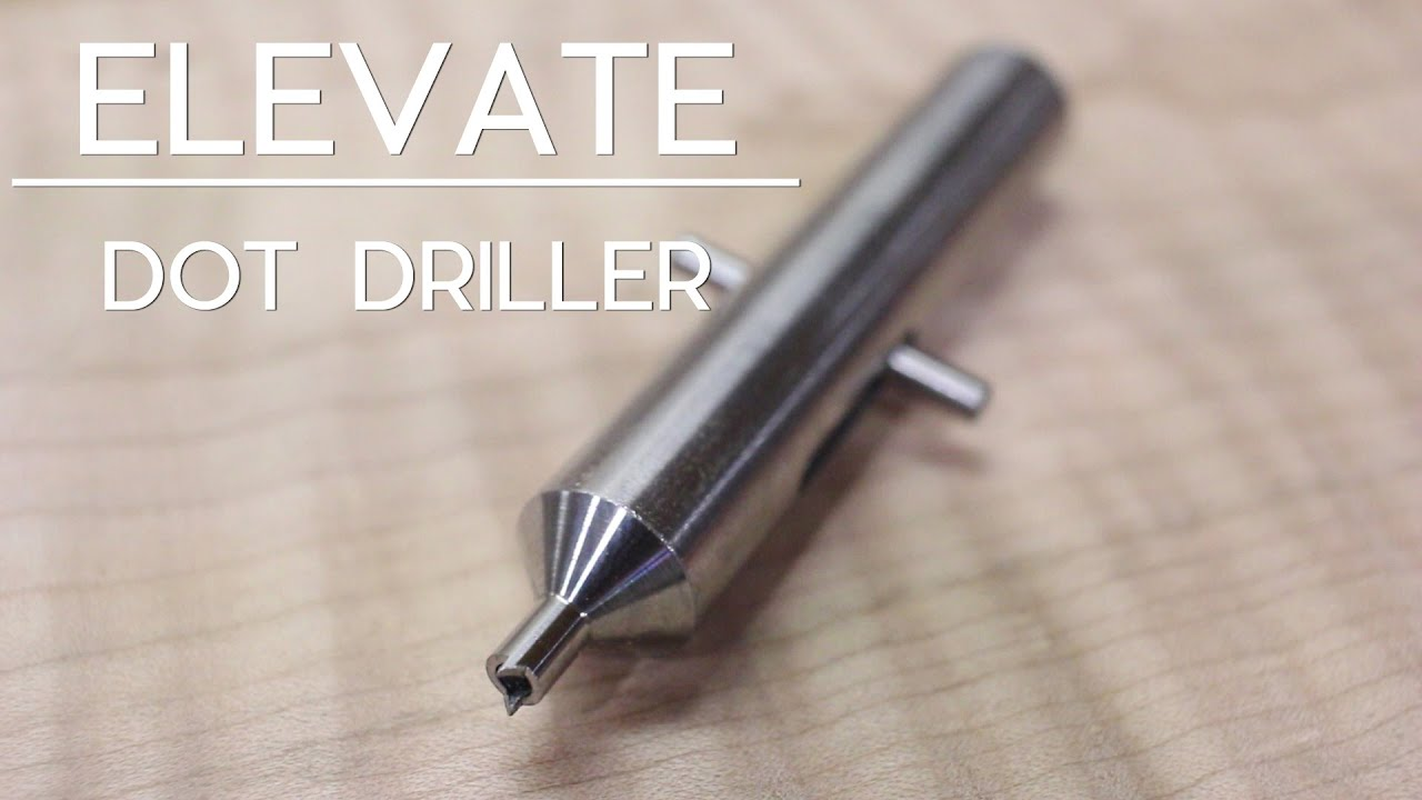 Using Your Dot Driller