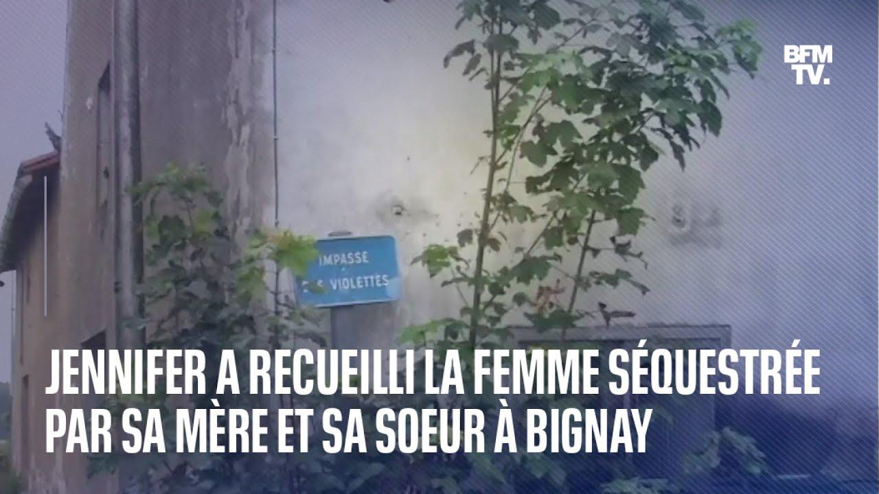 Jennifer a recueilli la jeune femme séquestrée par sa mère et sa sœur à Bignay, en Charente-Maritime