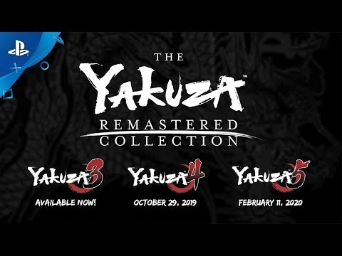 The Yakuza Remastered Collection | Announcement Trailer | PS4 thumbnail
