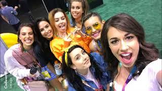 Cimorelli Meeting Youtubers At Vidcon 2017: Colleen Ballinger, Liza Koshy, Tana Mongeau, and More