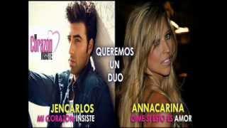 JenCarlos Canela y Anna Carina - Nueva canción ( Dúo 2013)